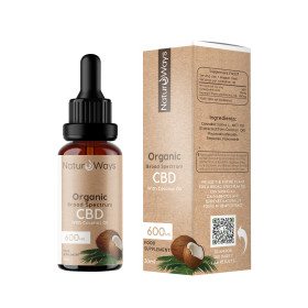 Broad Spectrum CBD Oil 600mg