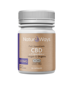 Full Spectrum CBD+CBDa Vegan Capsules 300mg