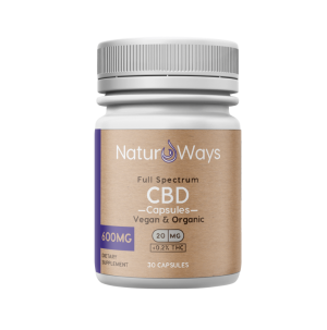 Full Spectrum CBD+CBDa Vegan Capsules 600mg