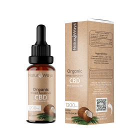 Broad Spectrum CBD Oil 1200mg