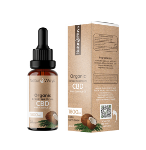 Broad Spectrum CBD Oil 1800mg
